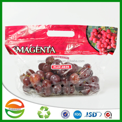 Latest products in market clear colorful printing picking bag fruit