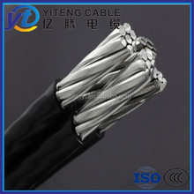 0.6/1KV ABC cable, aerial cable with rate voltage 0.6/1KV