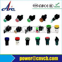 Abbeycon Export 22mm Illuminated Pushbutton Switch Stainless Steel Pushbutton Switch waterproof 6 pin push button switch