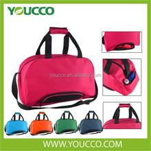 Waterproof Travel bag Duffle bag Gym bag Sport bag Luggage bag with shoe pocket