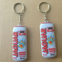 promotion keyring pvc custom design can shaped 3d rubber soft pvc keychain