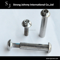 Taiwan supplier chicago stainless steel binding post screw