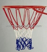 12 Loops,7 knots standard basketball nets with cheap price