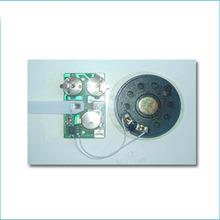 light sensor sound module/greeting card music module/sound chip cob module