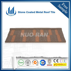 50yeras warranty stone coated metal roof tiles/roof steel sheets/ stone coated roof tiles manufactory