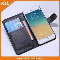 folio buckle case flip cover and leather case for iphone6 made in China cell phone case