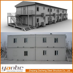 2015 Movable 20Ft 40Ft Container Modular Office Building