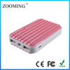 Best quality 2 usb output Luggage power station 6000mah external battery charger
