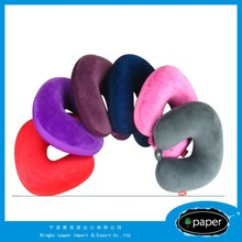 Brand new neck pillow filled with polystyrene beads with high quality