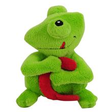 custom stuffed baby soft frog toys for girls
