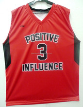 2016 Best quality dri-fit custom sublimated latest basketball jersey design