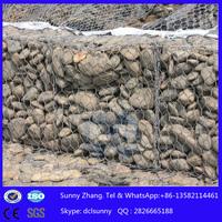 Size 80*120 Hexagonal Gabion Basket Stone Cage with EXW Price