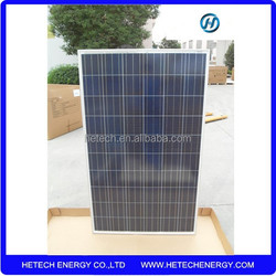 China Supplier polysilicon solar cell panel 240w