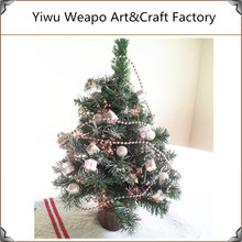 2015 hot sale new fashion style artificial snowing christmas tree small christmas tree
