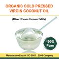 prensado en frío de aceite de coco virgen