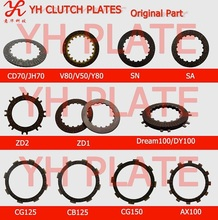 motorcycle part manufacturer clutch disc,top quality OEM factory,China Chongqing genuine motorparts supplier
