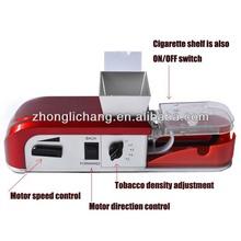 Nunca atasc cigarrillo eléctrico de la máquina rodante para uso en el hogar, 84mm longitud