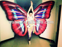 New Performance Inflatable Butterfly Wings