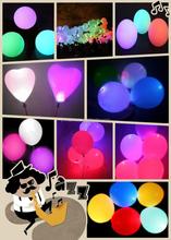Flashing balloon/luminous/heart-shaped balloon glow balloon flight/wedding celebration bar