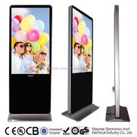 2 year warranty 55 inch LCD digital advertising screens for sale