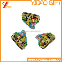 Custom 3D rubber/soft pvc souvenir fridge magnet for promotion