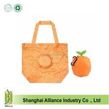Zipper Round Purse Shape Nylon Polyester Promotion Tote Folding Shopping Bag