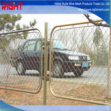 Quality Products Cheap Garden Used 5 Foot Galvanized and PVC Temporary Construction Chain Link Fence