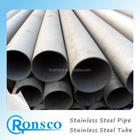 A312 316Ti 18 Inch Welded Stainless Steel Pipe, 18 Inch Welded Stainless Steel Pipe for Wastewater,SS Tube