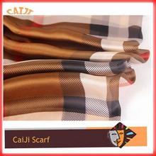 Plaid Scarf Painting Silk Painting Wholesale Plaid Scarf Silk Scarf