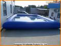 jumbo de vinil em movimento inflável piscina para parque de diversões