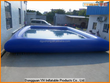 jumbo vinyl inflatable moving swimming pool for amusement park