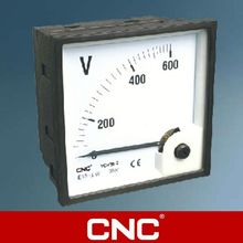 YC Series 48,72,96 Electromagnetic series(moving iron) AC DC Voltmeter electrical instrument
