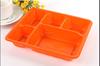 2015 news! disposable mini plastic food tray bento container box
