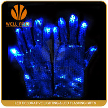 party themes led high brighness gloves China supplier
