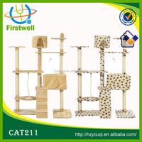 Intresting cat tree with cat toy