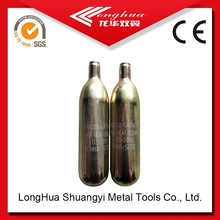 16g co2 cartridge/cylinder gas cylinder used in fire extinguisher