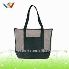 High quality Zipper Mesh Beach Bag