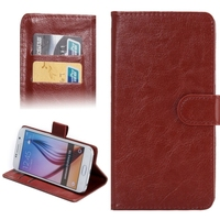 360 Degree Rotatable Flip PU Leather 3.8-4.3 Inch Universal Phone Case for Mobile Phone