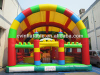 Fun city park trampoline inflatable castle