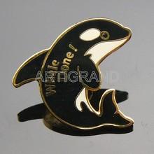 Wholesales sea ocean animal whale lapel pins