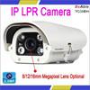 High quality car License plate camera lpr software HD 1080P Megapixel sensor IP Camera/cam