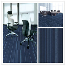 New design pp carpet tile washable removeable carpet tiles hotel and office and commercial