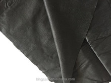 black spunlace nonwoven made by black polyester fiber black viscose fiber