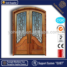 double entry door teak wood flush