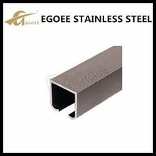 Standard 304 316 stainless steel u channel glass,aluminum u channel