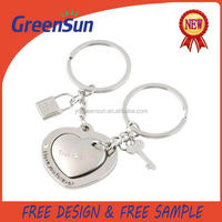 China manufacture professional zinc alloy metal key chain keyring