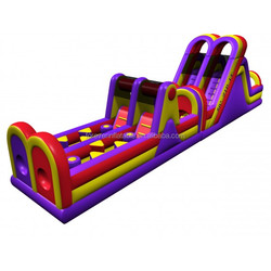 Factory outlet obstacle course equipment for kids play,giant inflatable obstacle course
