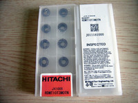 Hitachi CNC Lathe Tool Holder with Inserts , Tungsten Carbide Inserts CNC Turning Tool Holders RDMT10T3M0TN JX1005