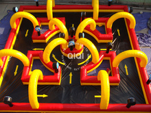 inflatable race air track cheap racing go kart for sale