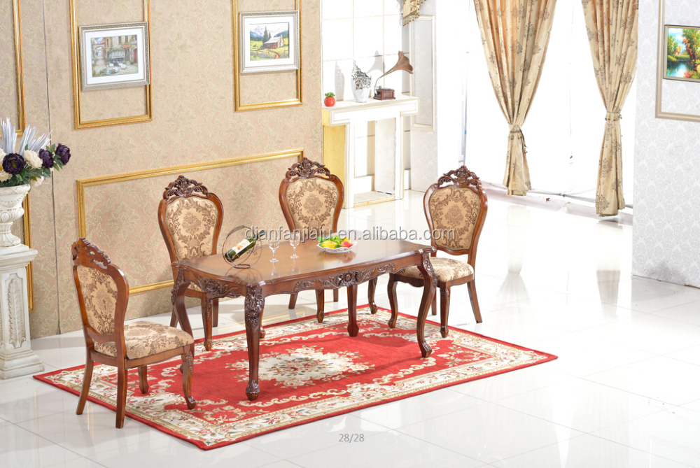 Living room furniture sidechair european style set buy - European style living room furniture ...